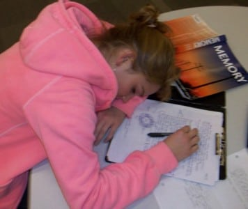 Sleep stressed out student